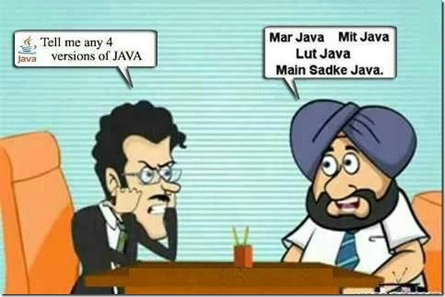 Santa Banta Learning Java