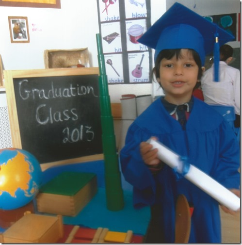Urvaksh Pre-School Graduation Photo